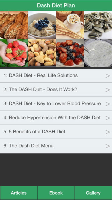 a diet plan menu