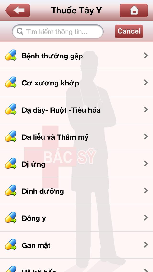 Bac Si Screenshot