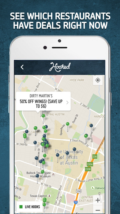 Hooked Deals Screenshot
