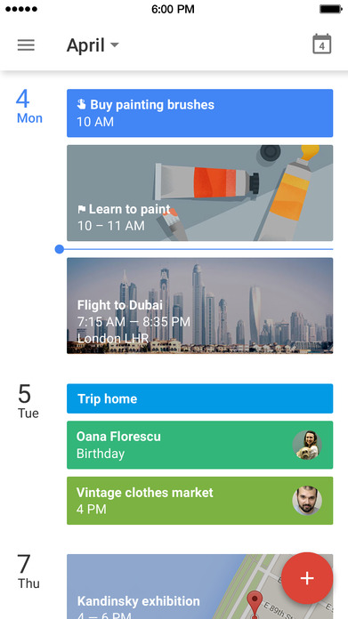 Google Calendar: Make the most of every day Screenshot