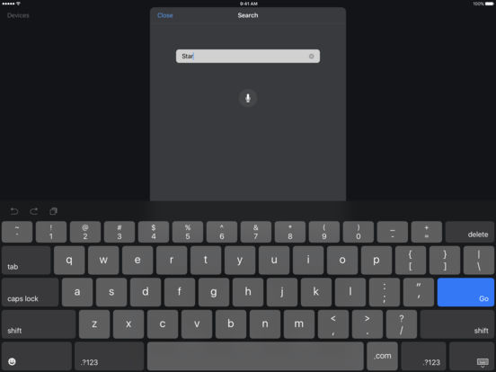 Apple TV Remote Screenshot