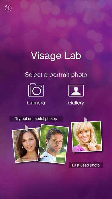 Visage Lab perfect face: tune selfie filters look Screenshot