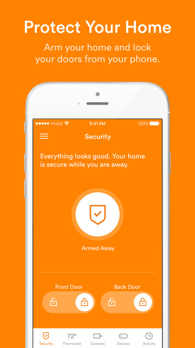 Vivint Smart Home Screenshot