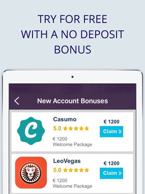 Ipad casino free bonus no deposit