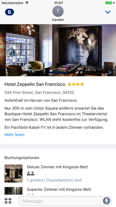 Booking.com Hotelreservierungen & Deals weltweit Screenshot