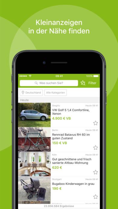 ebay kleinanzeigen lokale angebote schnell finden kostenlose apps f r iphone ipad. Black Bedroom Furniture Sets. Home Design Ideas