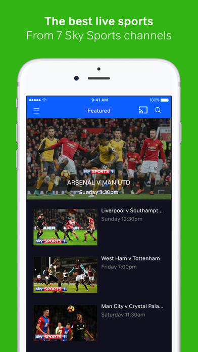 FREE SKY SPORTS STREAMING IPHONE