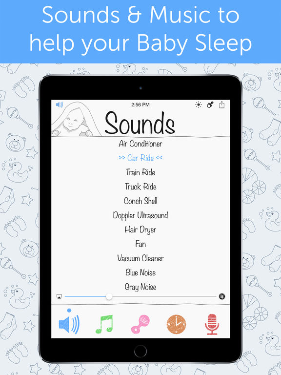 White Noise Baby on the App Store