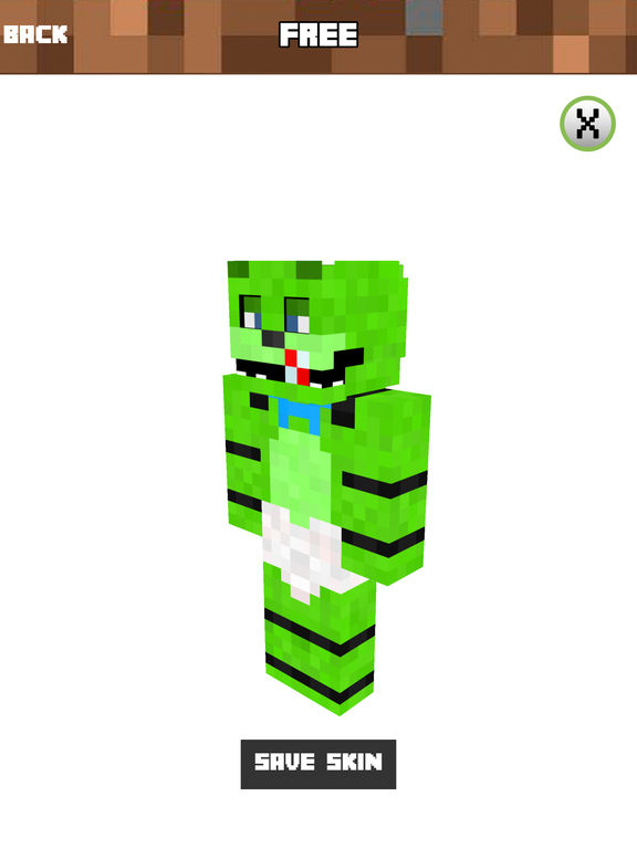 BABY SKINS - FNAF SKIN Free for Minecraft Game PE by Nguyen Hung