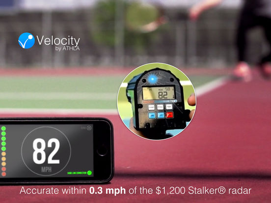 Athla Velocity: Hands-Free Speed Radar (Ultimate Version) Screenshot