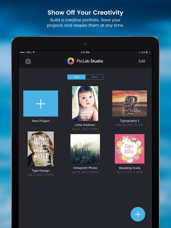 PicLab Studio - Creative Editing & Graphic Design Screenshot