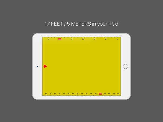 Ruler - tape measure length 17ft Screenshot