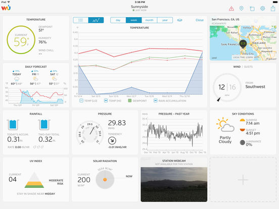 WunderStation – Weather from your neighborhood Screenshot