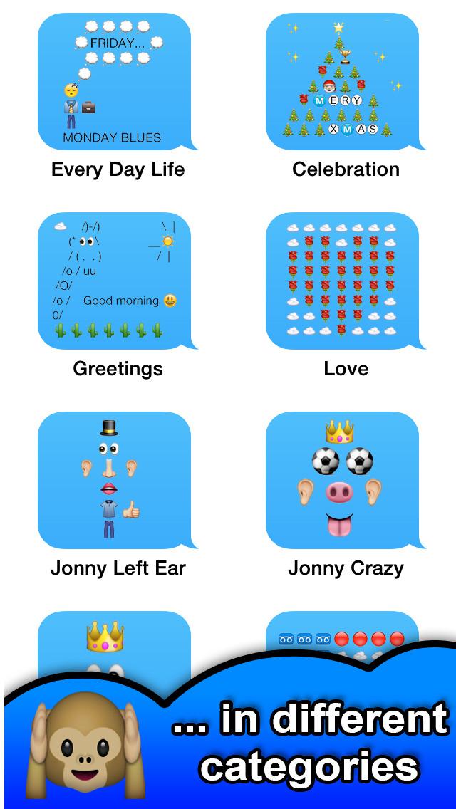 SMS Smileys FREE - Emoji Emoticon Art for | Free Mac Software