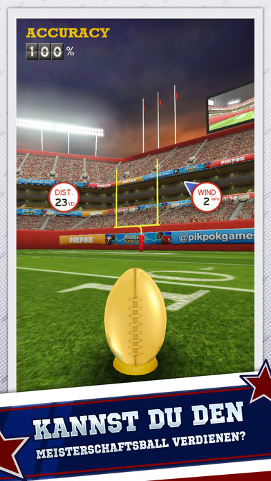 Flick Kick Field Goal Screenshot