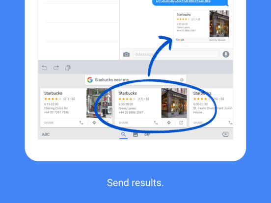 Gboard — Search. GIFs. Emojis & more. Screenshot