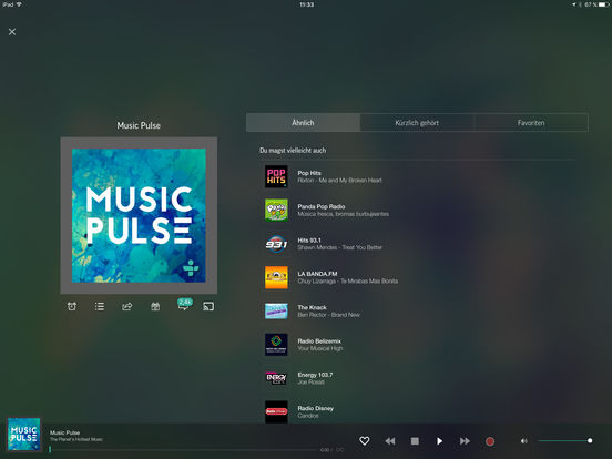 TuneIn Radio Pro Screenshot