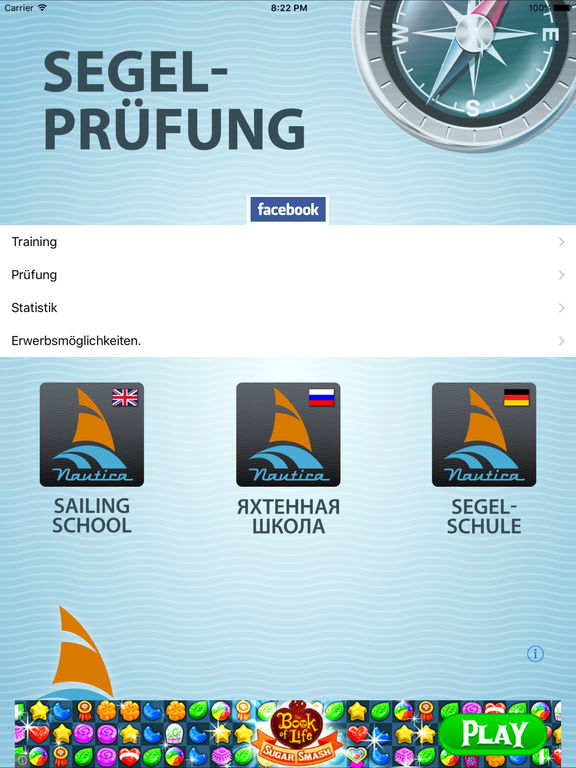 Segelprüfung Screenshot