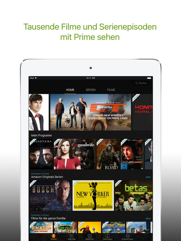 amazon prime video app kostenlos