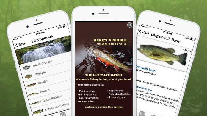 Wisconsin Fishing, Hunting & Wildlife Guide- Pocket Ranger® Screenshot