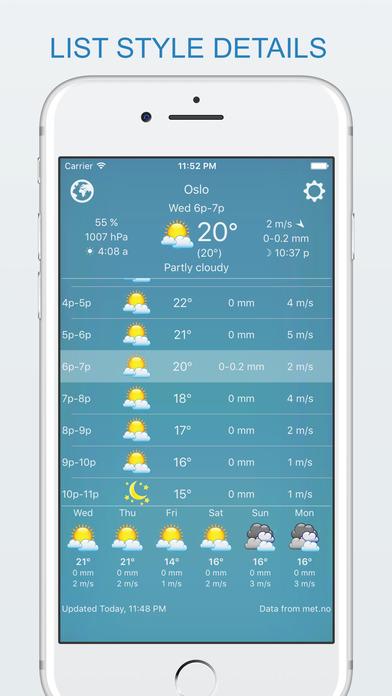 widget weather - offline forecast, your own style Screenshot