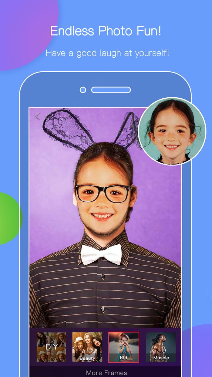 Face Morph - Visage Changer & Photo Swap Editor Screenshot