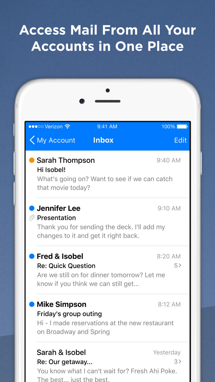 Alto - Email Organized for You Screenshot