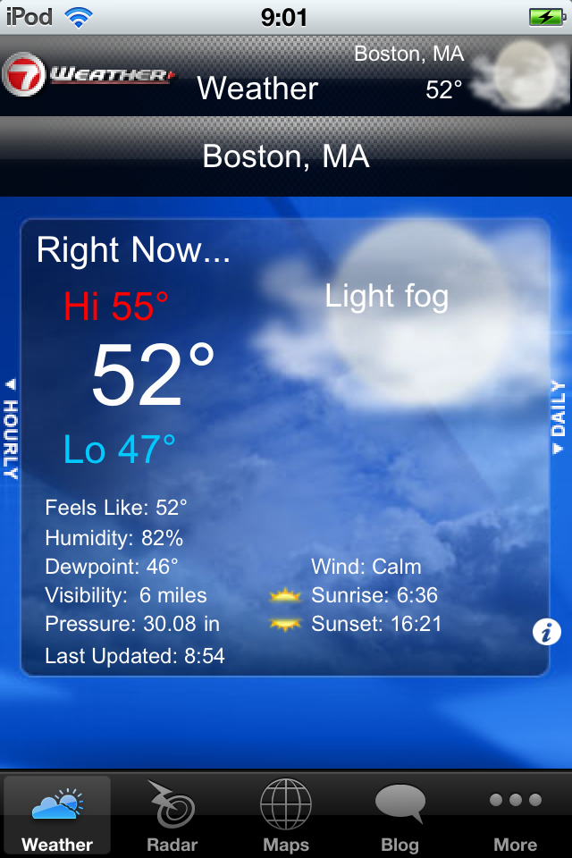 WHDH - 7 Weather Boston App for Free - iphone/ipad/ipod touch