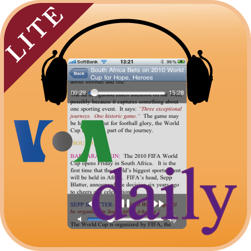 VOA Special English RSS Player Lite App for Free - iphone