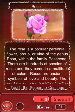 Bewilder-III Lite flowers jigsaw puzzle game Screenshot