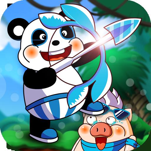 Panda vs. Pig
