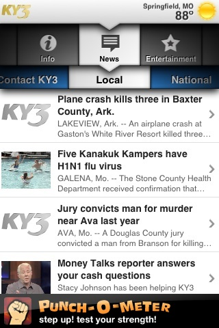 KY3 Mobile Local News App for Free - iphone/ipad/ipod touch