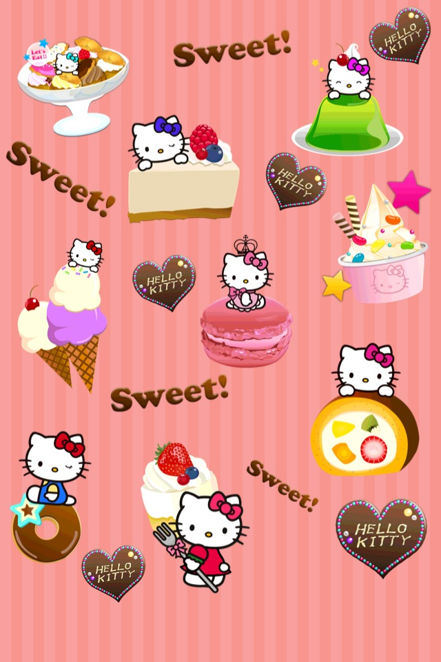 3d4821fb2 Hello Kitty Wallpaper Maker | iPhone Entertainment apps | by Fasteps ...