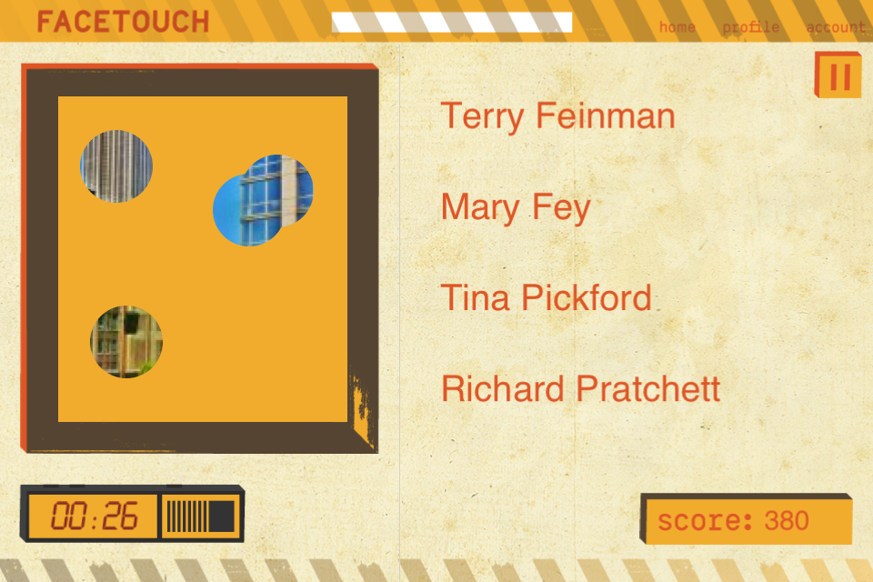 FaceTocuh – A Social Game Screenshot