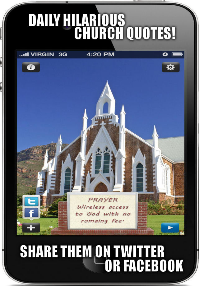 App Shopper: Funny Church Signs - Sayings and Quotes ...
