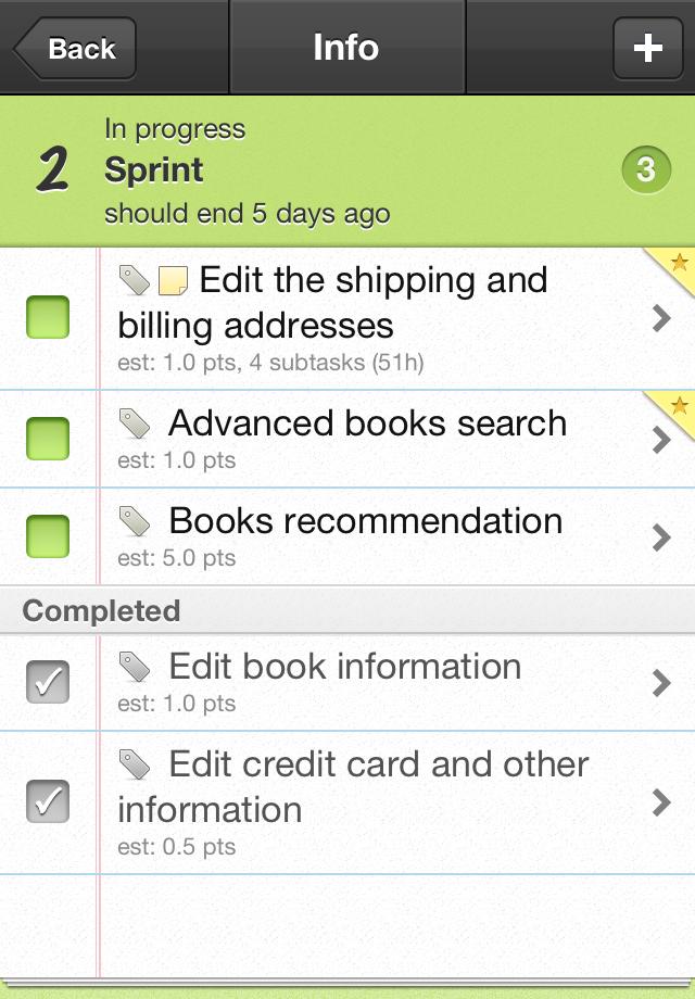 GoTask – Agile Project Management Tool Screenshot