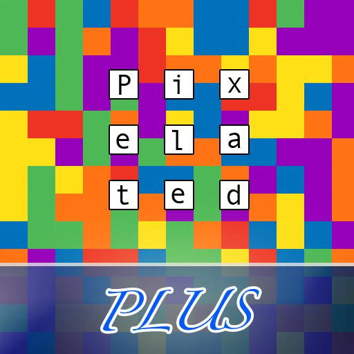 Pixelated Plus Color Puzzle