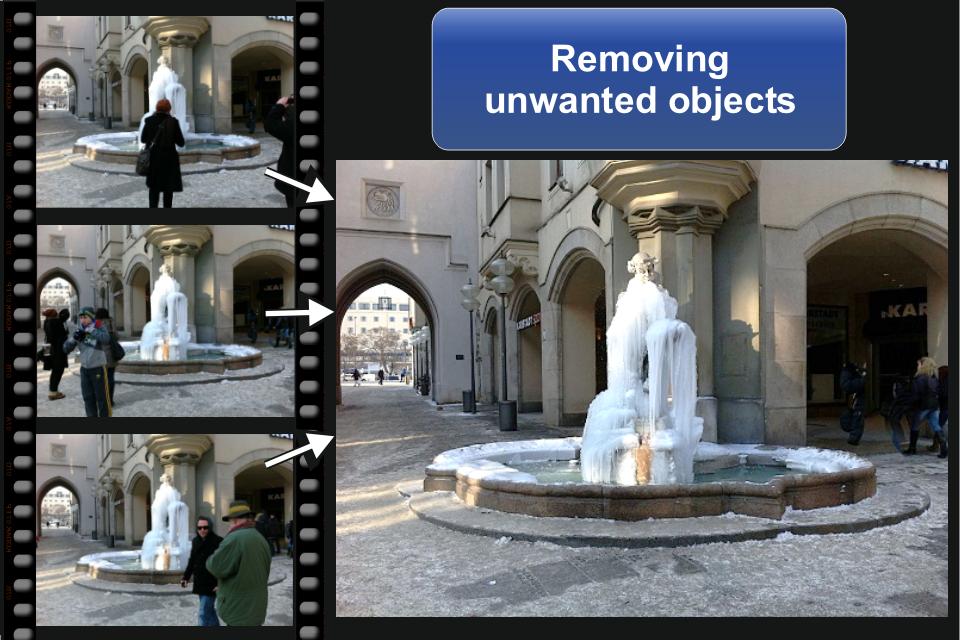 ClonErase – automatic photo manipulation cam Screenshot