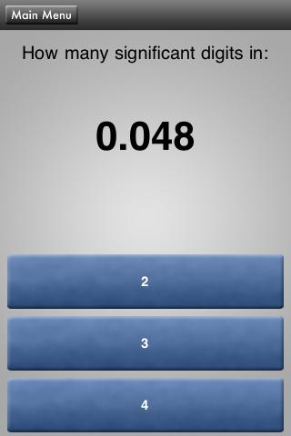 HowToSolve – Significant Digits Pop Quiz Screenshot