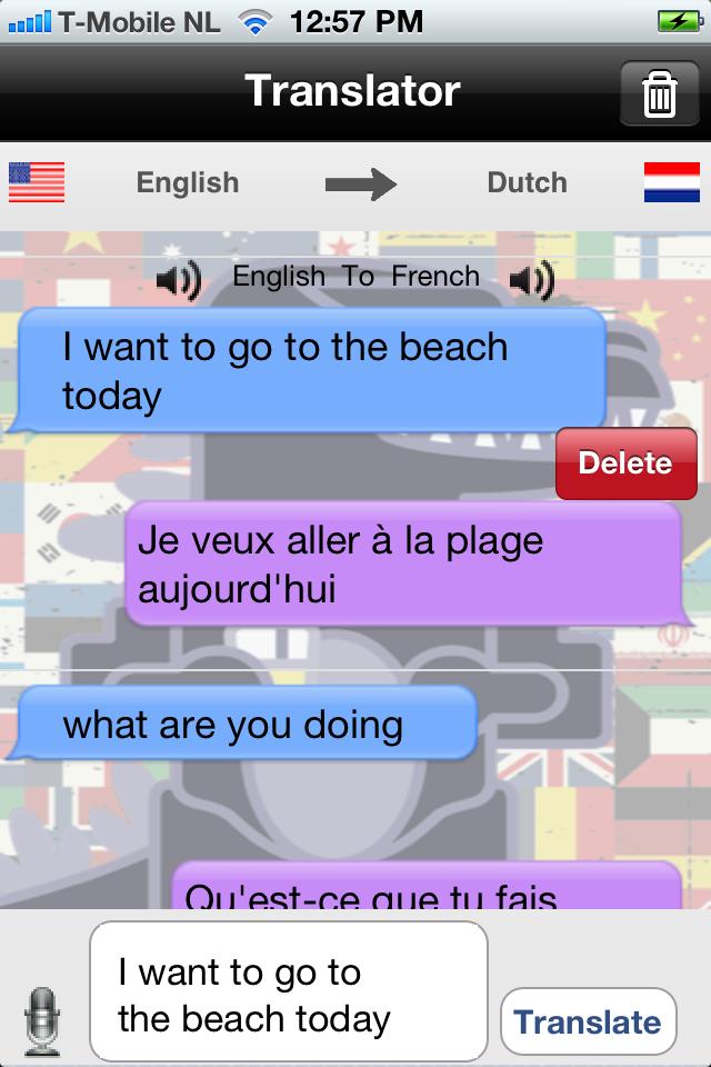 Transzilla – The Ultimate Translator Screenshot