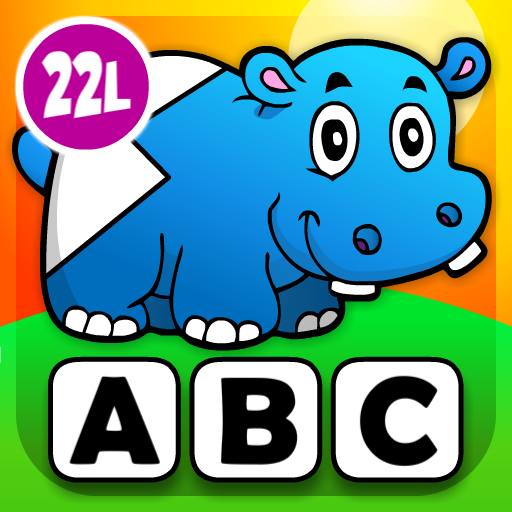 Abby - Preschool Shape Puzzle - First Words (Farm Animals, Toys, Vehicles, Pets, Princesses, Fairy Tales...) HD