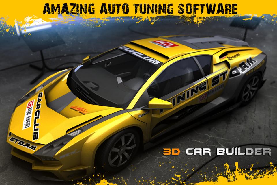 3D Car Builder   iPhone Racing games   by zhao zhiyuan