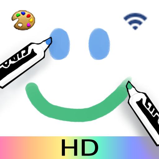 Whiteboard HD: Internet Collaboration