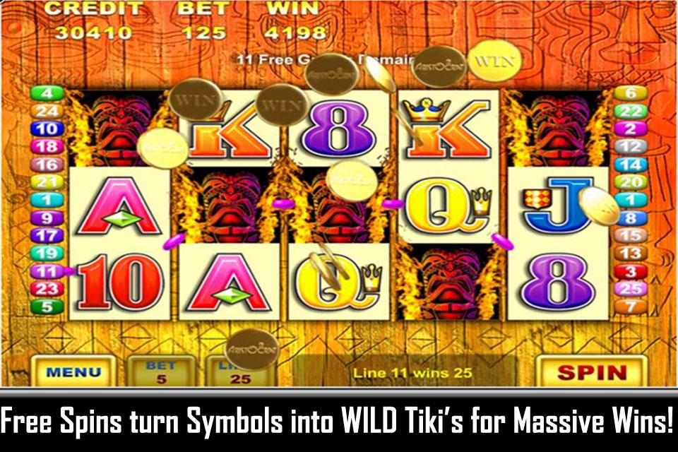 Tiki Torch Casino Game