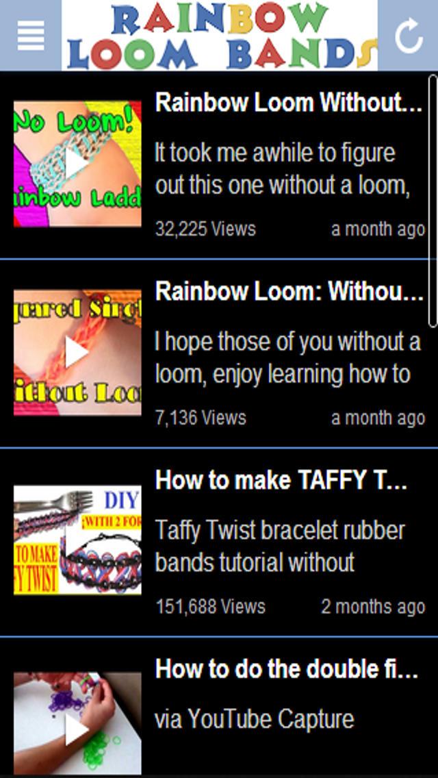 Rainbow Loom Band Master Screenshot