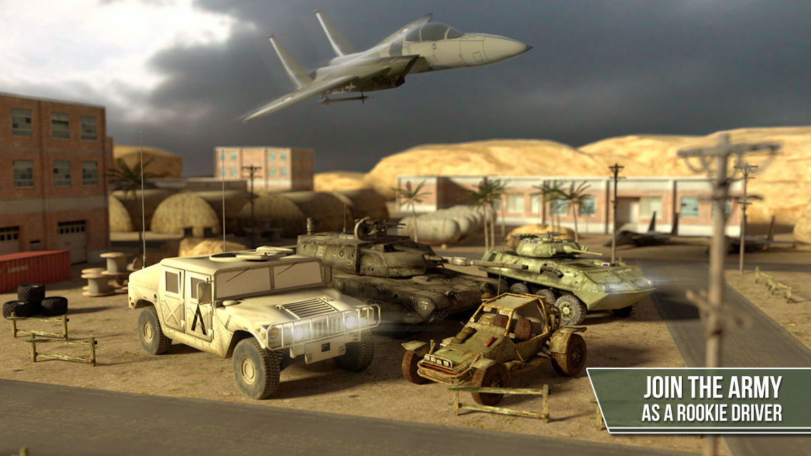 App Shopper: 3D Trucker Simulator Free - Army Tank, Truck and Plane