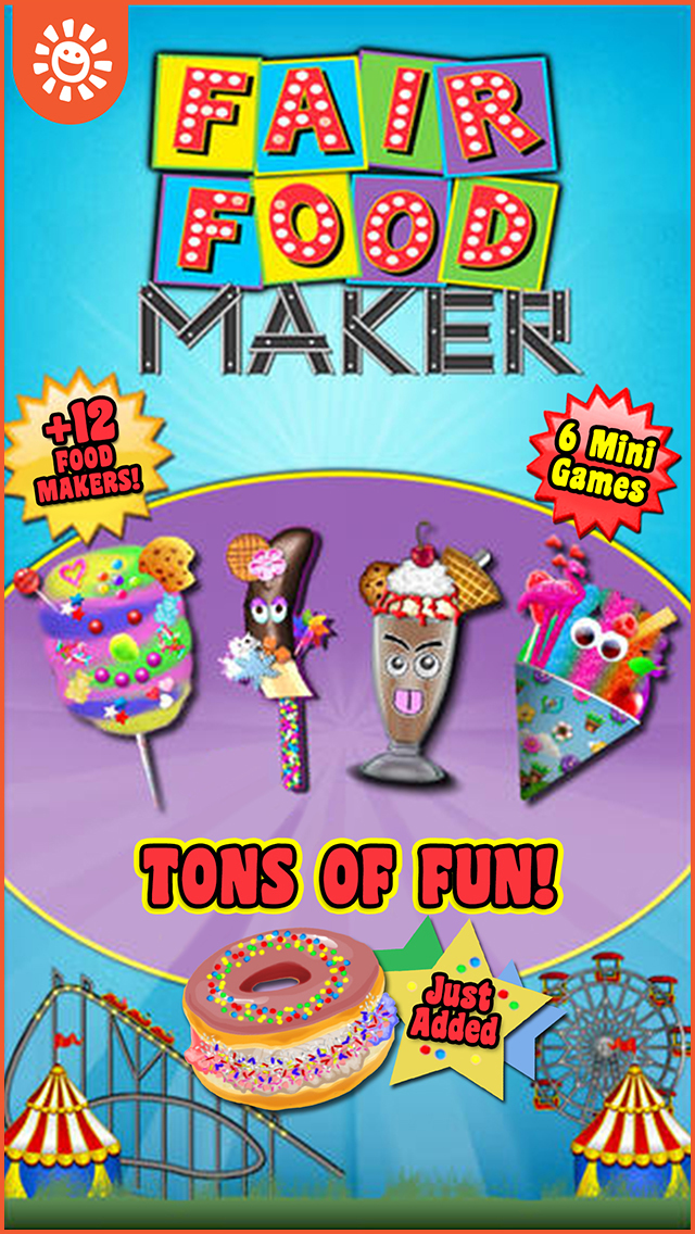 Fair Food Maker Game Make Fair Foods And Play Free