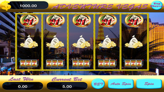 A Adventure Vegas Slots Coins Screenshot on iOS