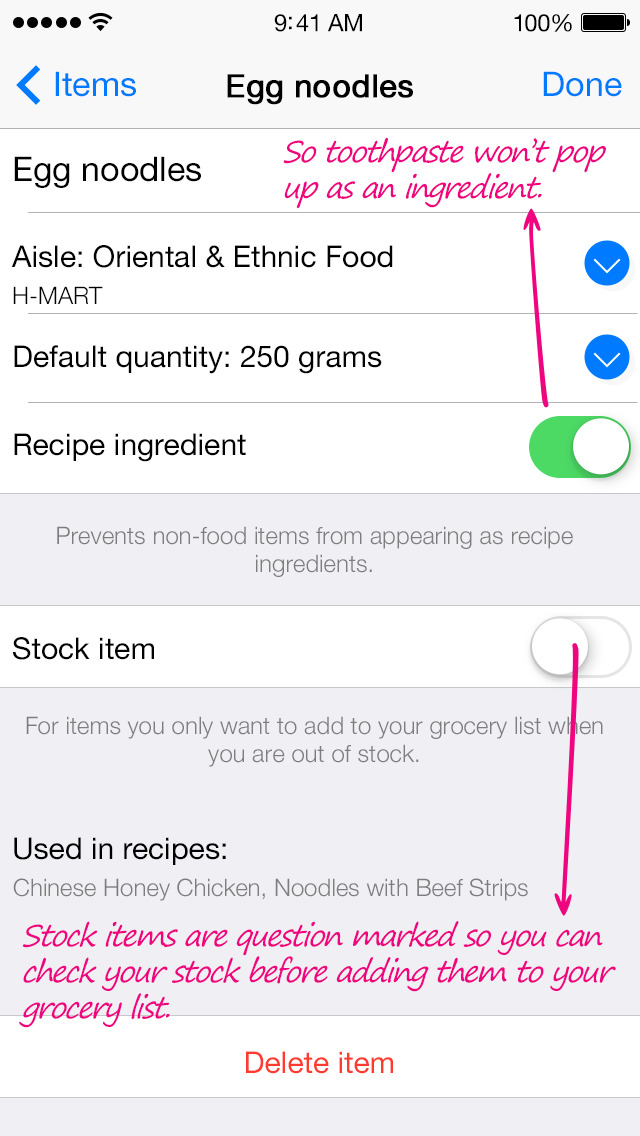 app shopper grocery list generator create shopping lists and