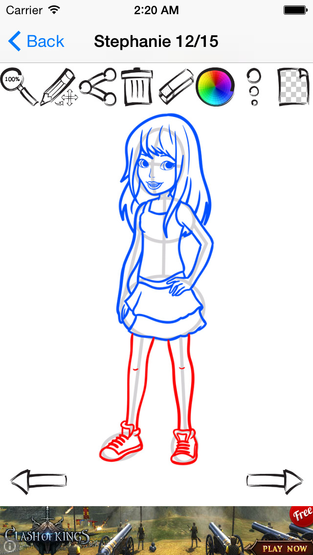 Learn How To Draw Edition For Lego Friends Apprecs